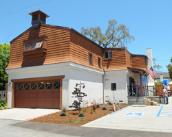A new recovery center for people seeking alcohol and drug treatment opened Friday on Placido Avenue in Santa Barbara. (Lara Cooper / Noozhawk photo)