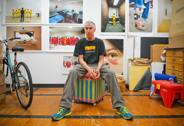 <p>UCSB photography professor Richard Ross visited more than 200 juvenile detention centers in 31 states as part of a project that culminated in the writing of <i>Juvenile In Justice</i>.</p>