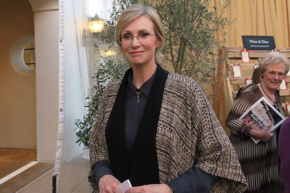 Actress Jane Lynch from the TV series, <em>Glee</em>.