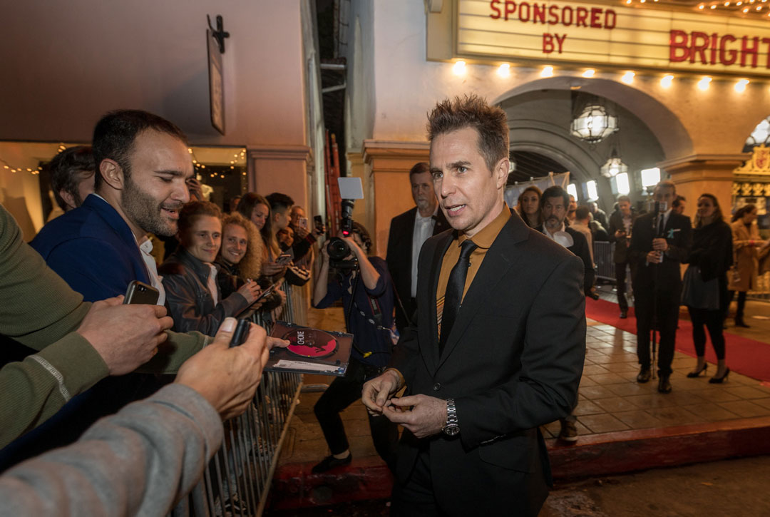 rockwell chat Chat with us on facebook messenger learn what's trending across popsugar sam rockwell delivered an emotional and moving speech while accepting his best supporting actor golden globe award for his role in three billboards outside ebbing, missouri, but before he took the stage, he got a sweet smooch.