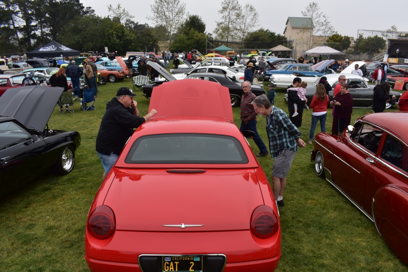 Dozens of classic cars are on display at the 6th Annual St. Patrick's Day Car Show at St. Louis de Montfort Church in Santa Maria.