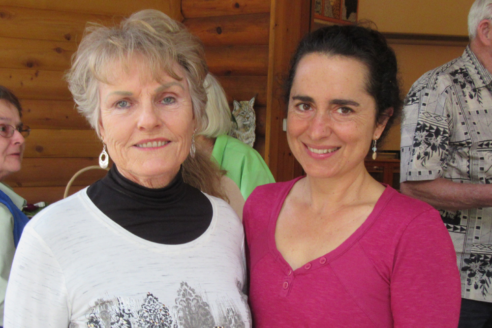 Board members Marian Kauffman, left, and Ursula O'Connor.