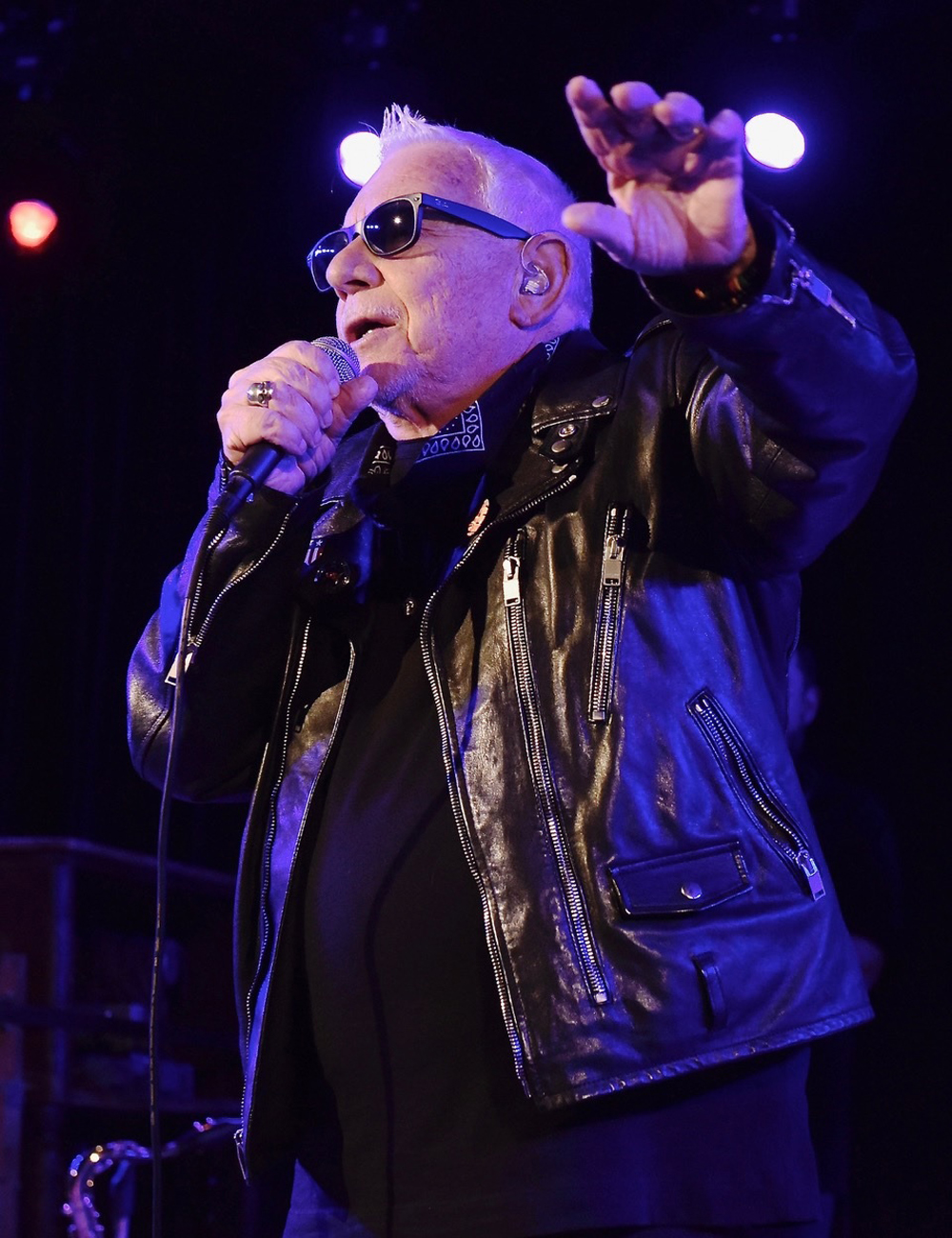 Eric Burdon connects with fans at the Libbey Bowl on May 6.