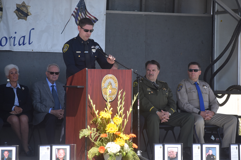 Santa Maria Police Department Peace Officers' Memorial