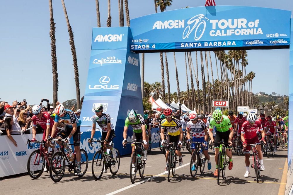 Huffman wins from breakaway in Stage 4 of Tour of California