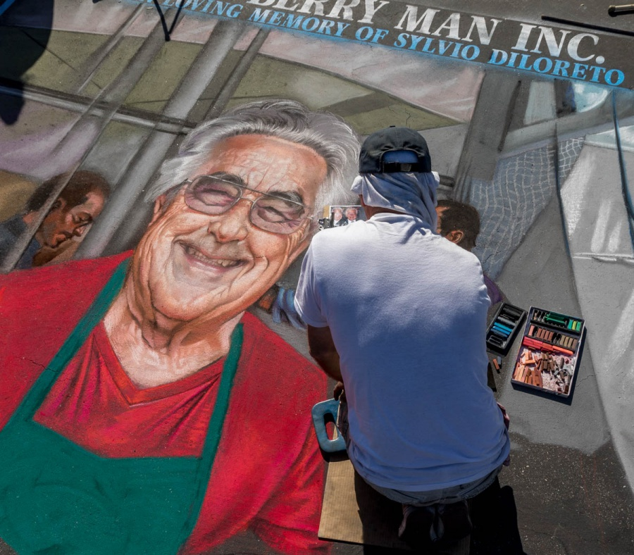 The Berry Man dedicated its space to a tribute to the late Silvio Di Loreto, a longtime Santa Barbara civic leader who died earlier this year.