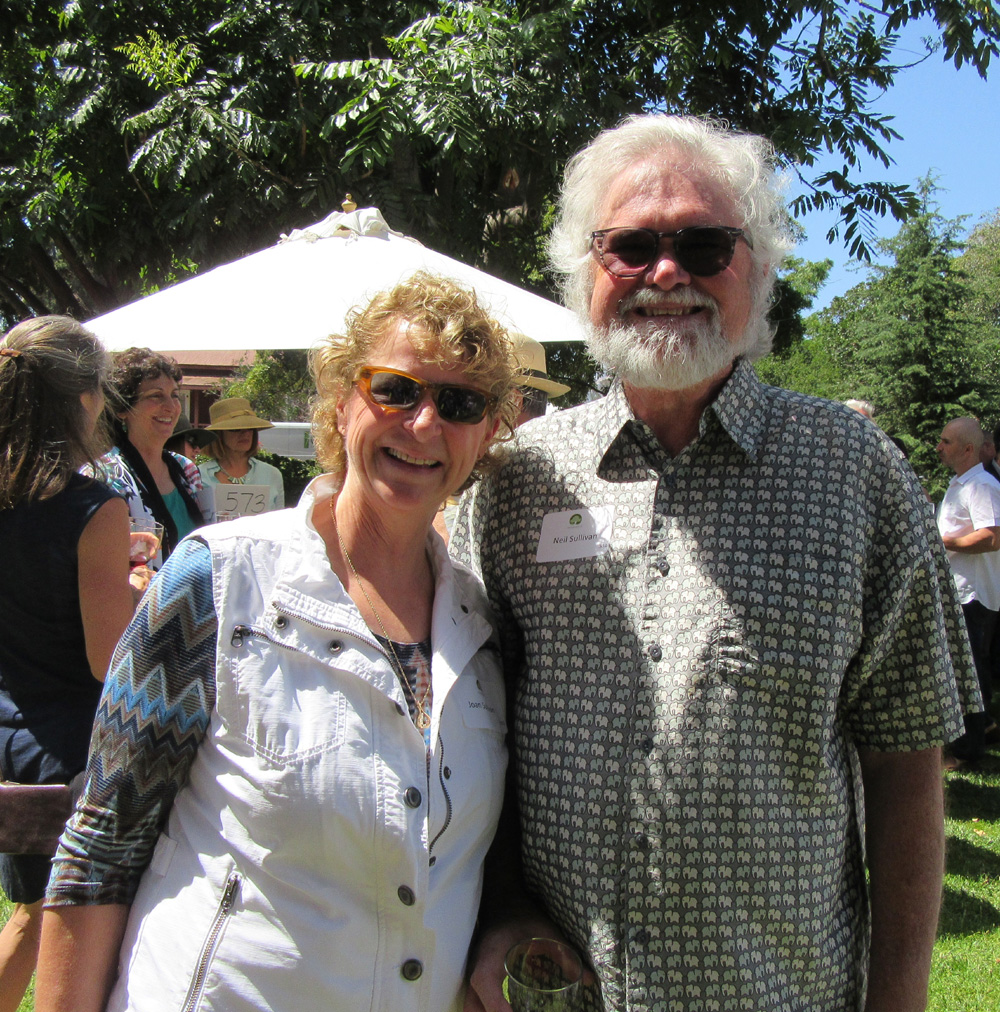 Joan Sullivan and Santa Barbara Neighborhood Clinics' medical director, Neil Sullivan, M.D.