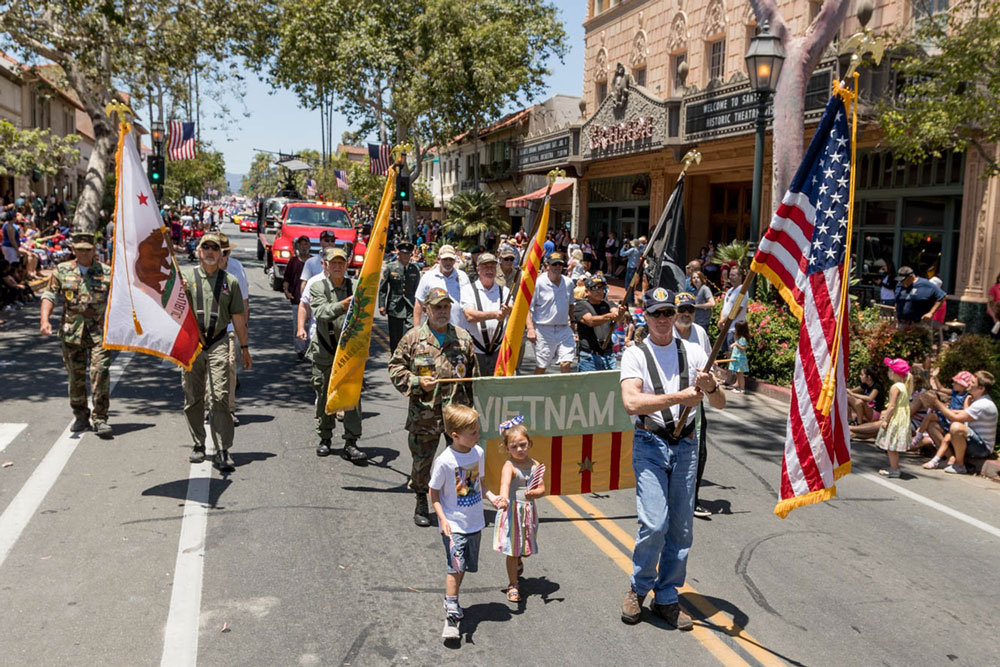 Thousands Celebrate America's Independence During Santa Barbara ...