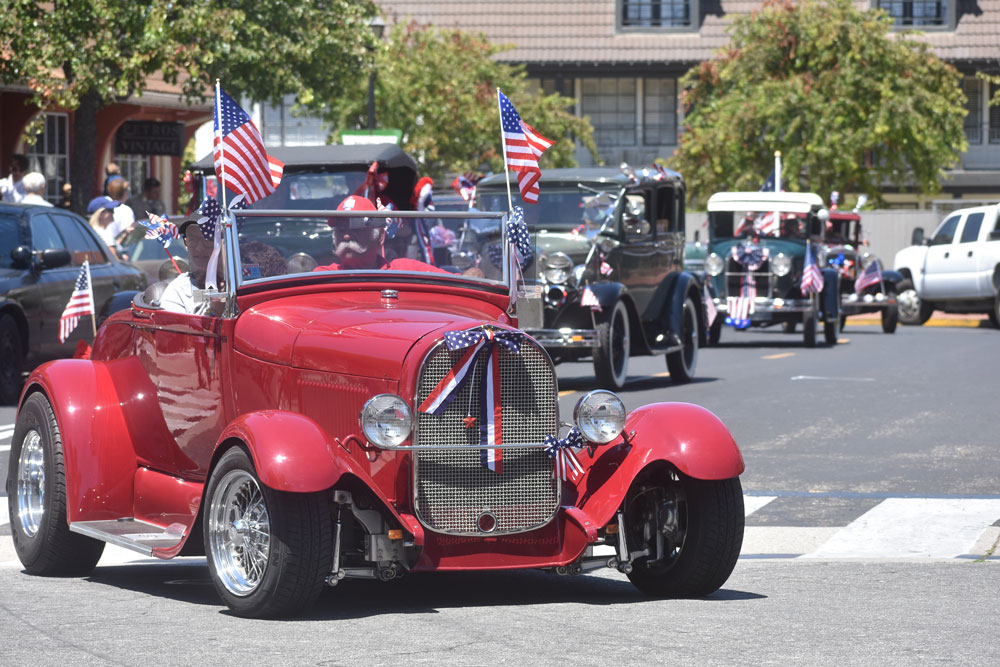 Solvang Parade Marks Day Long Independence Day Celebration Local