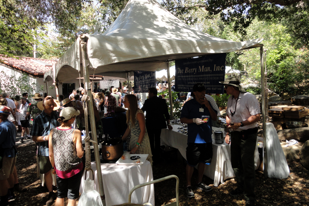 The Santa Barbara Wine + Food Festival served as a showcase for local wineries and restaurants on June 24 on the grounds of the Santa Barbara Museum of Natural History.