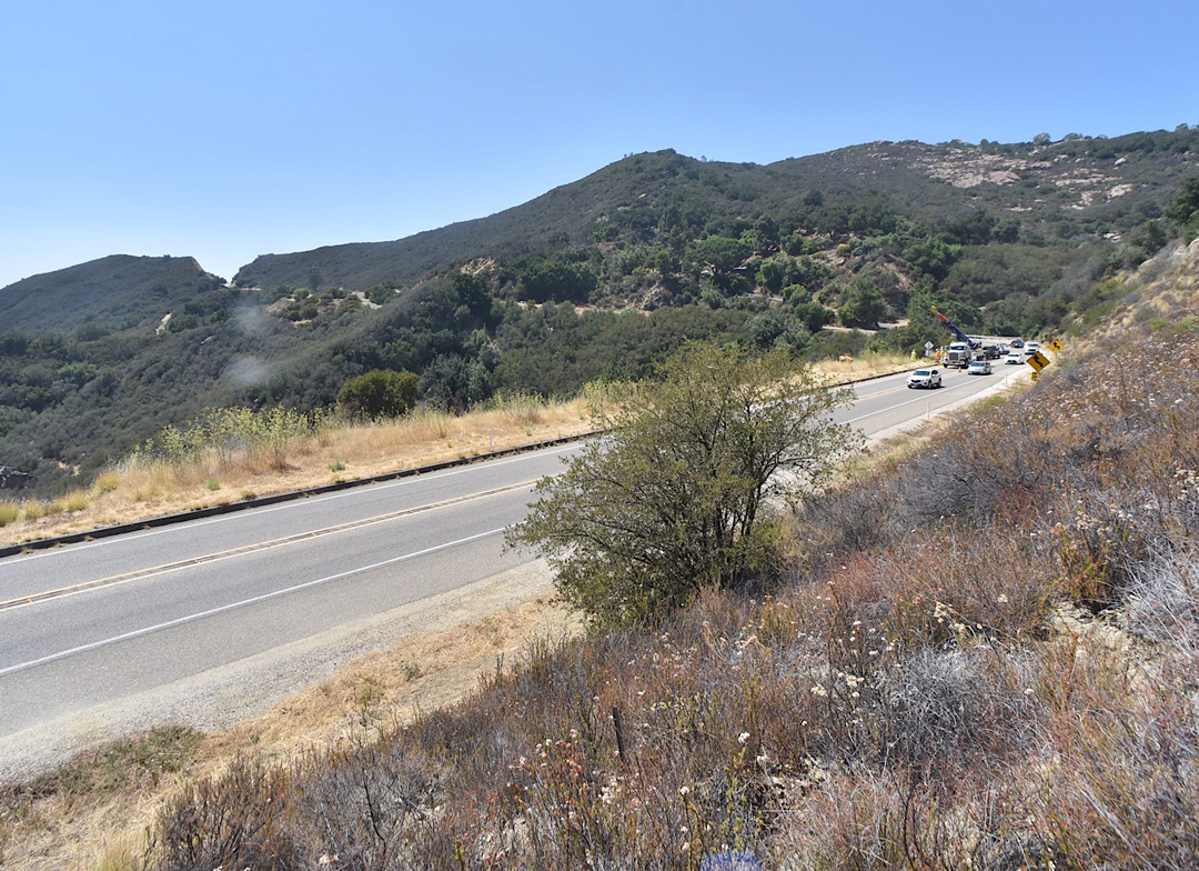 Windy Gap is a section of Highway 154 east of Painted Cave Road, above Santa Barbara.