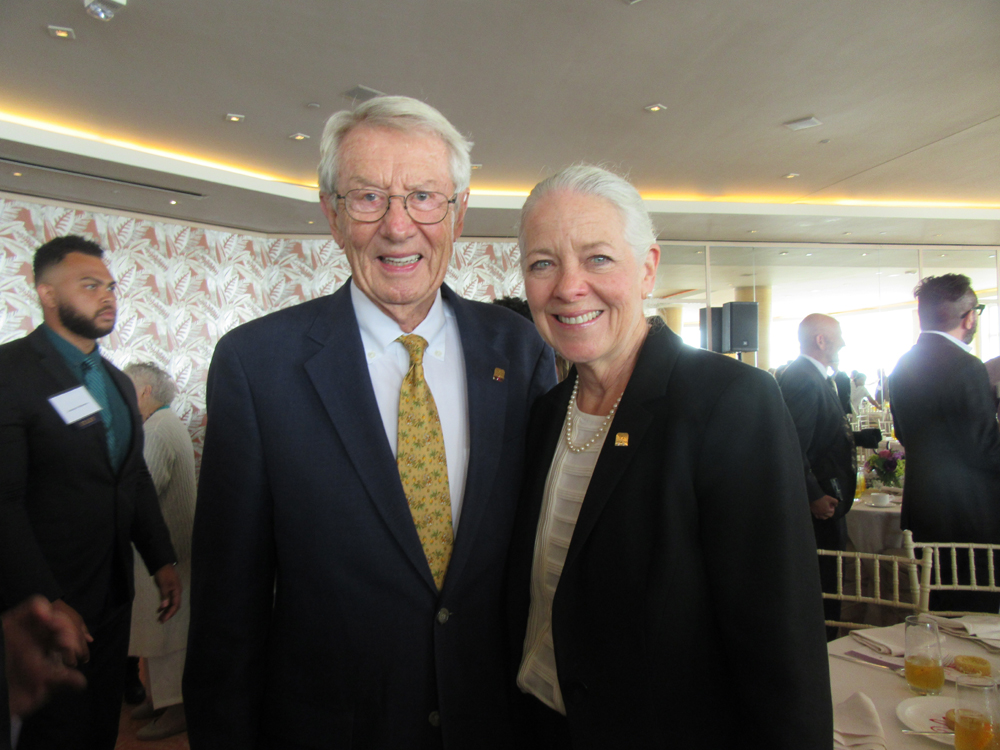 Ernesto Paredes, Joni Meisel Feted as Man & Woman of the