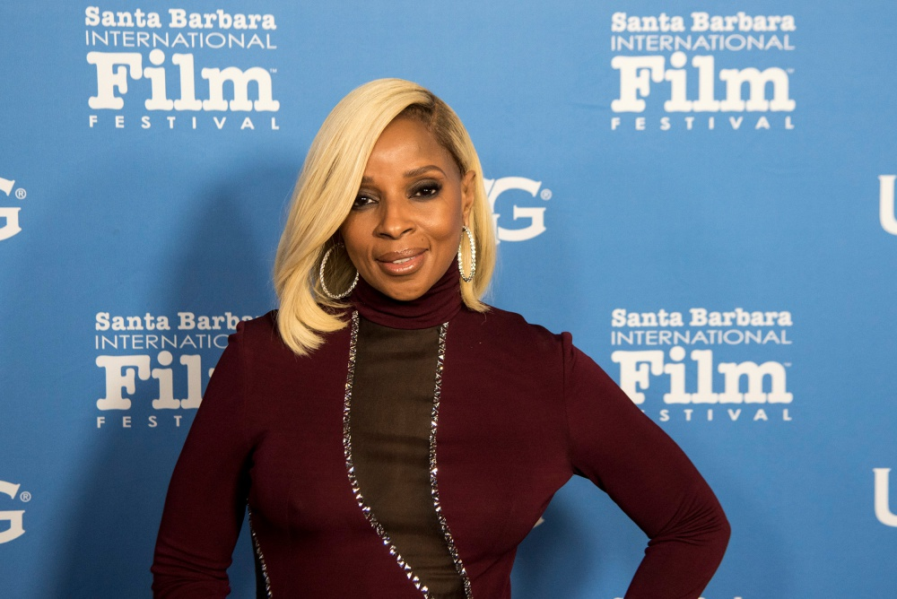 Mary J. Blige, a winner of the Santa Barbara International Film Festival Virtuosos Award.