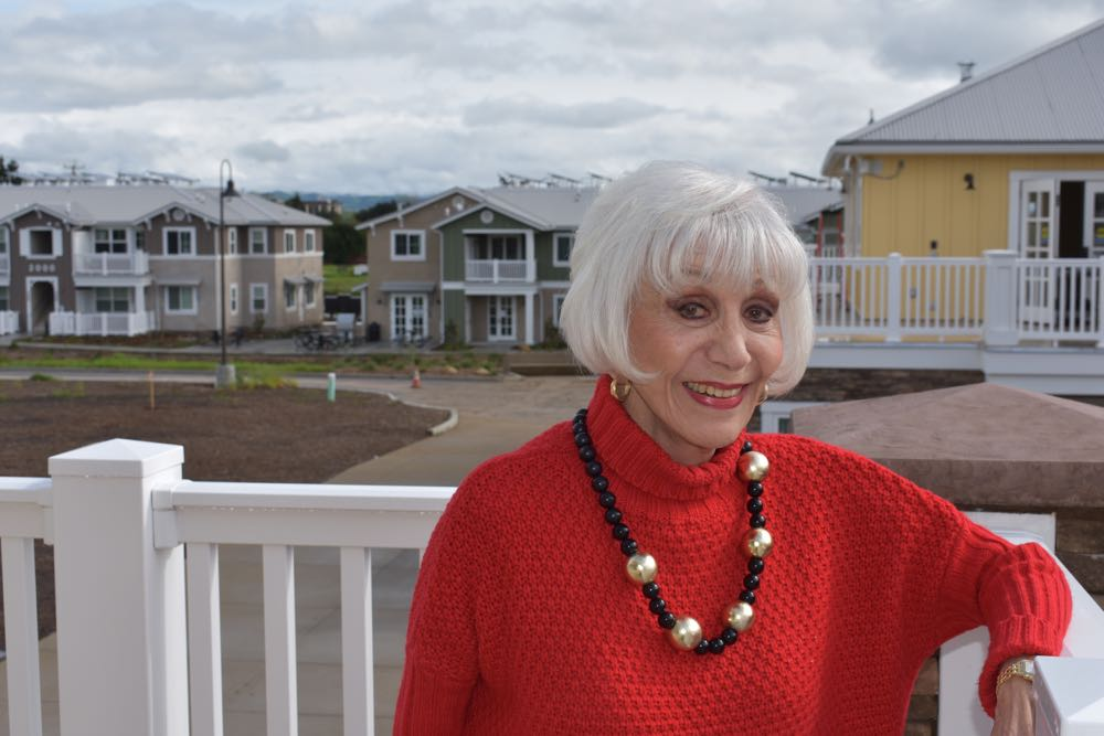 "Rona Barrett, famed Hollywood entertainment writer-turned-businesswoman, is the driving force behind Golden Inn & Village, a new low-income senior housing community in Santa Ynez. ""It's a vision and an idea whose time had really come,"" she says. ""We need many more kinds of Golden Inn & Villages because there's just not enough affordable housing all over the state, let alone the country."""