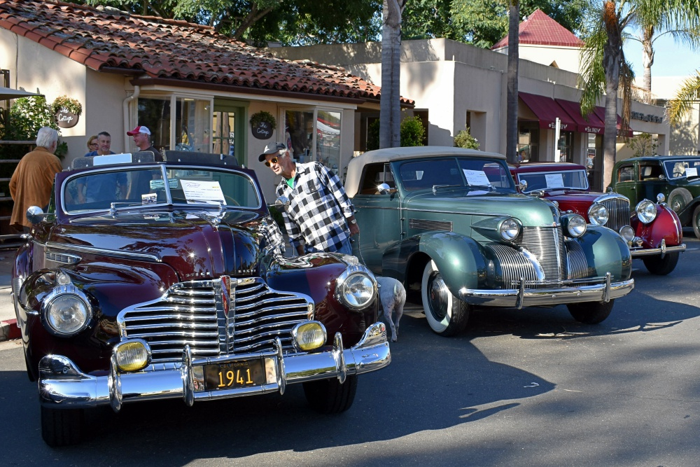 Smooth Rides Shine As Stars Of 6th Annual Montecito Motor Classic