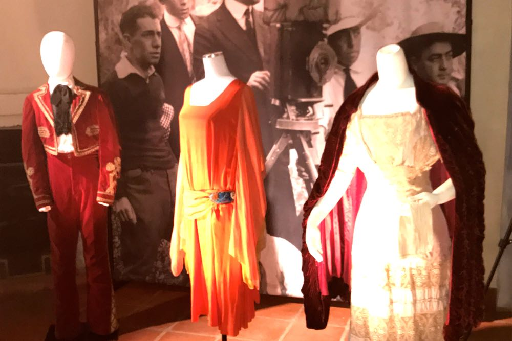 The Santa Barbara Historical Museum has thousands of historic costumes in its collection.
