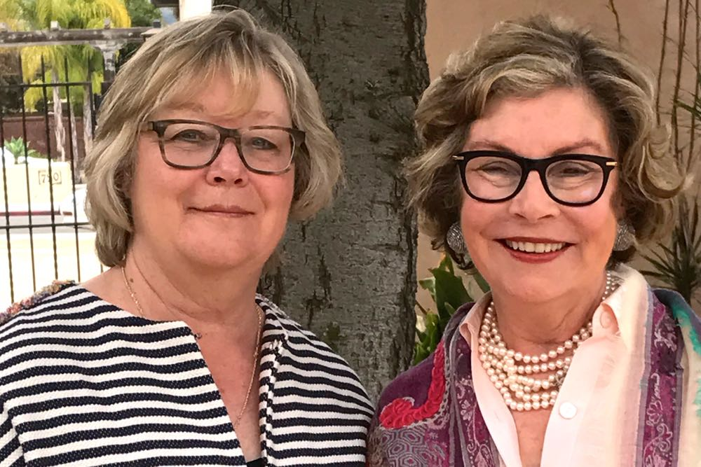 Nancy Hunter, left, and Cheryl Ziegler are co-chairwomen of the Costume Council.
