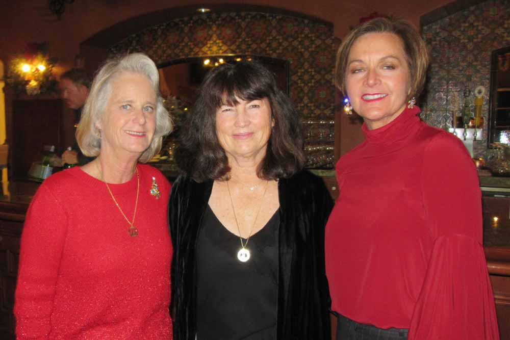 Carol Kallman, left, Linda Stirling and Laura Motley.