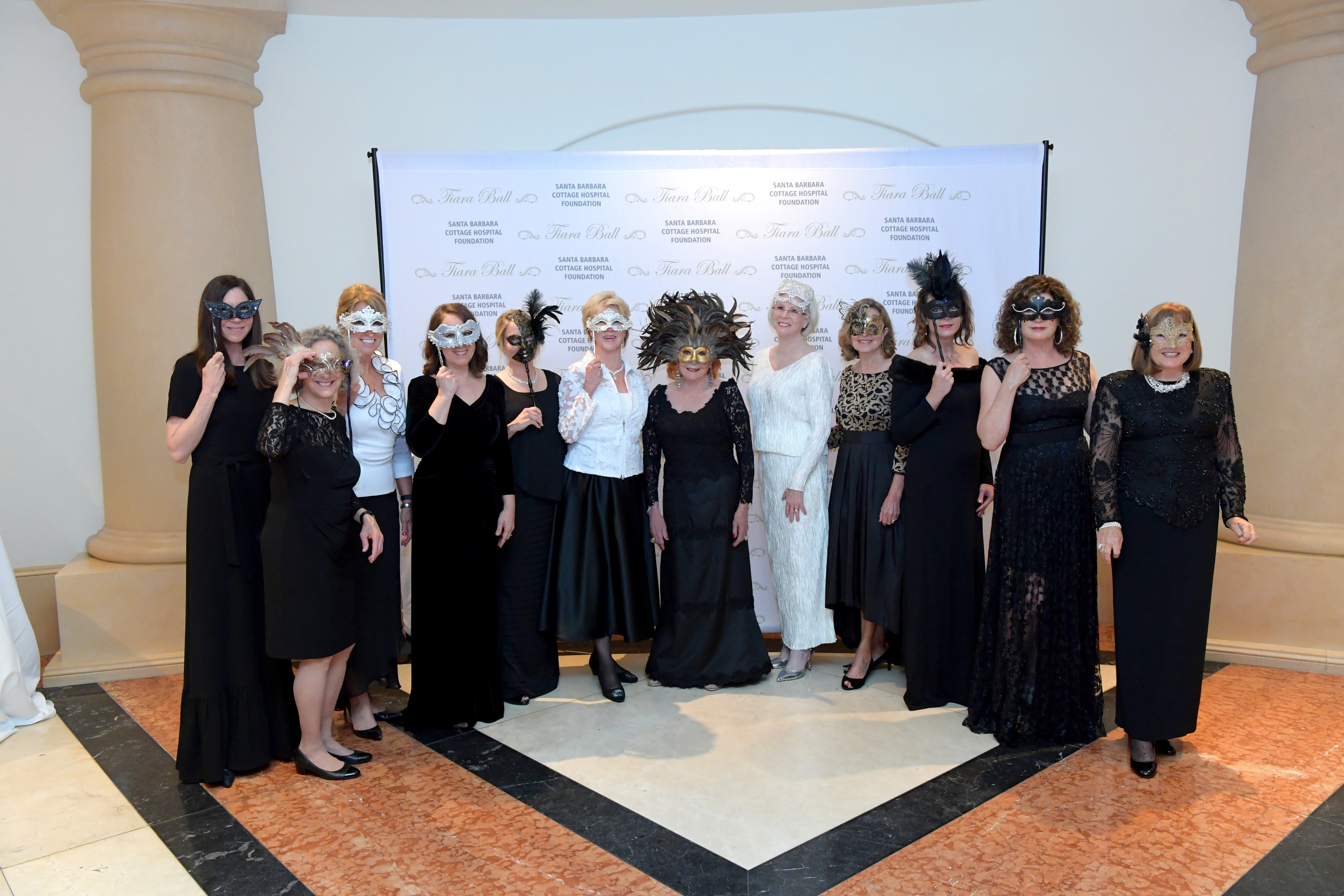 Tiara Ball Committee includes: Mari McAlister, Audrie Krause, Magda Stayton, Mary Werft, Lisa Iscovich, Gerd Jordano, Lady Leslie Ridley-Tree, Alexandra Nourse, Virginia Barkley, Katy Bazylewicz, Betsy Turner, Lynn Nakasone, Margaret Wilkinson.