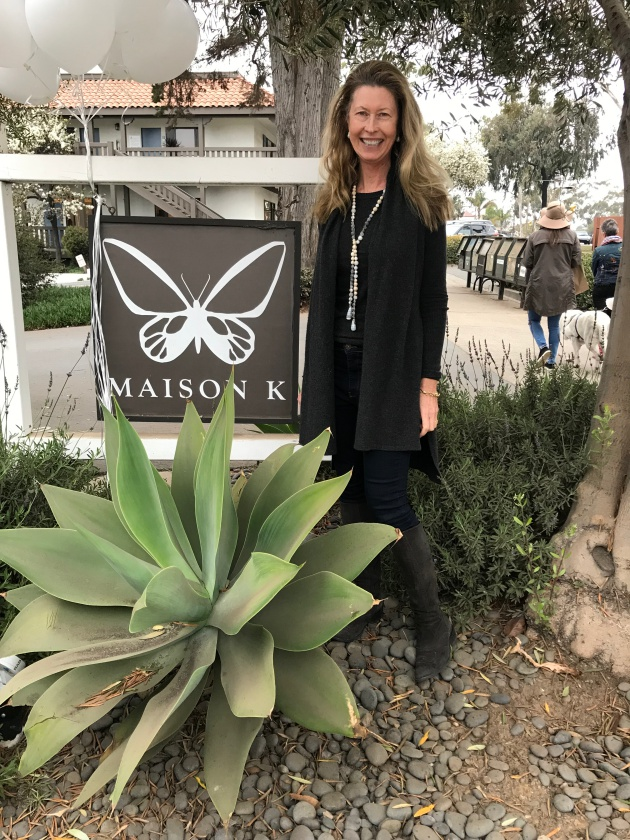 Kimberly Hayes, owner of Maison K, was on hand to welcome back customers.