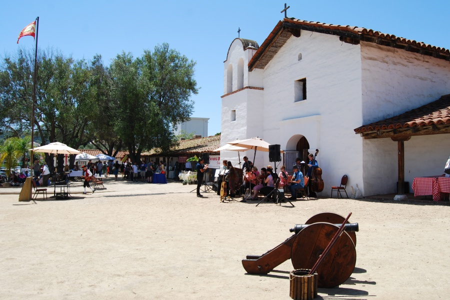 The community was invited to celebrate Santa Barbara's 235th birthday Saturday at El Presidio de Santa Bárbara State Historic Park.