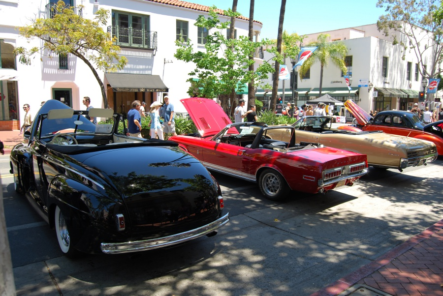 Classic Cars Roll Into Santa Barbara For State Street Nationals