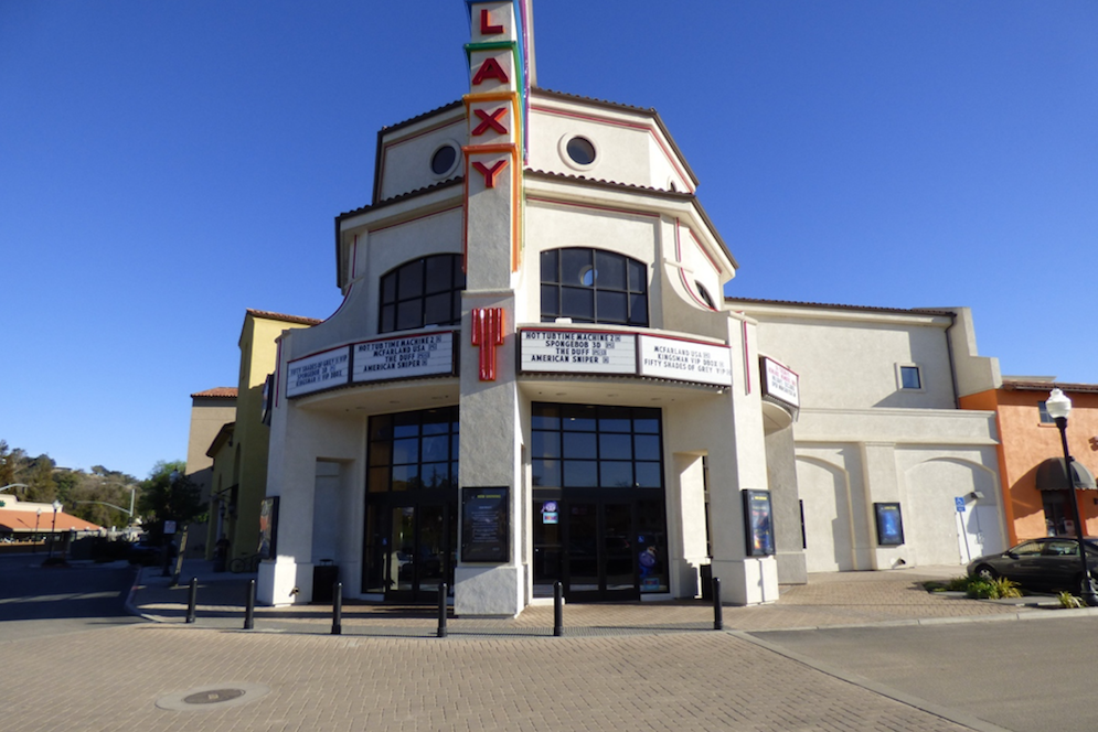 Wine and a movie anyone? Atascadero's Galaxy Colony Square Theatre offers beer, wine and reclining seats. Perfect for a date night! (Donna Polizzi photo)