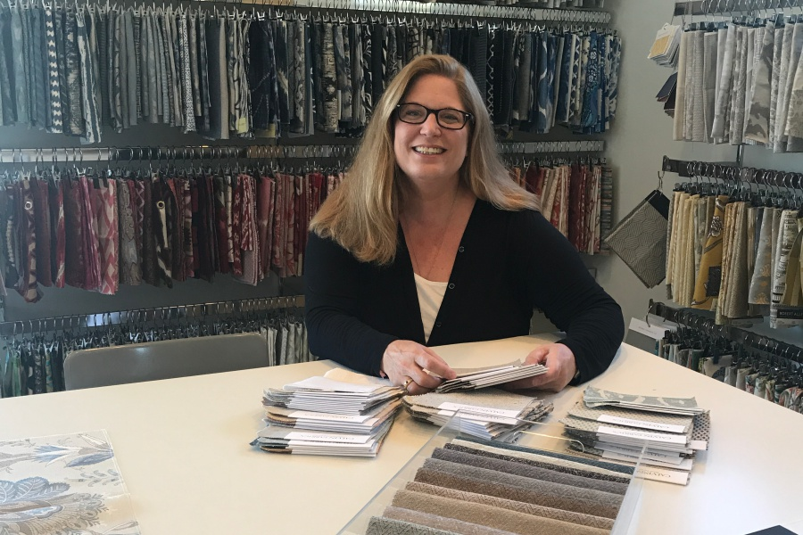 "Blake Wood recently opened Blake Ashley Design in Montecito's Upper Village, which welcomes professional designers as well as retail clients. ""Now the general public can shop for the same products that are offered at the design centers — with or without a designer,"" she says."
