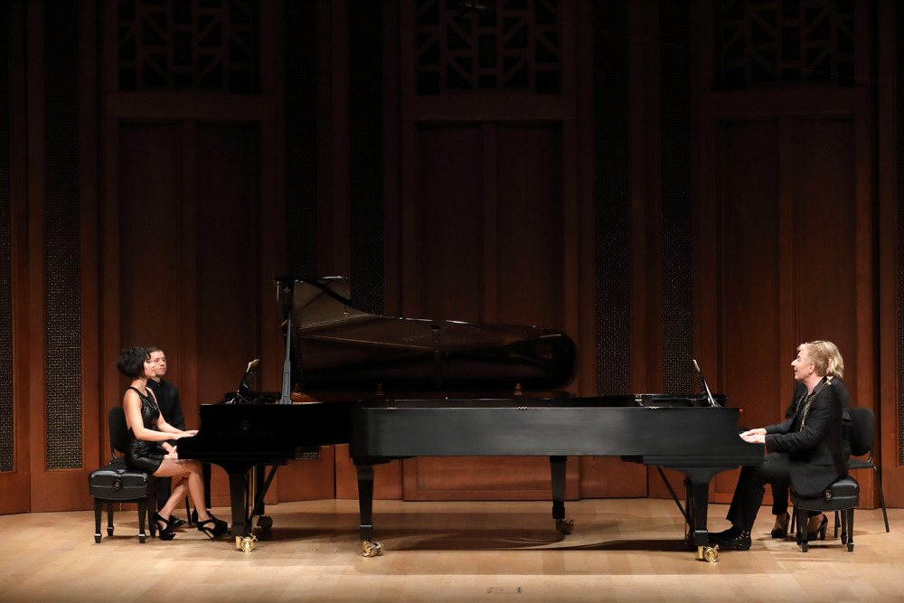 Special guest artists and acclaimed pianists Yuja Wang and Jean-Yves Thibaudet perform.