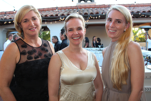 Lisa Wolf, left, Molly Morgan and Elizabeth Jensen of JPMorgan Chase.
