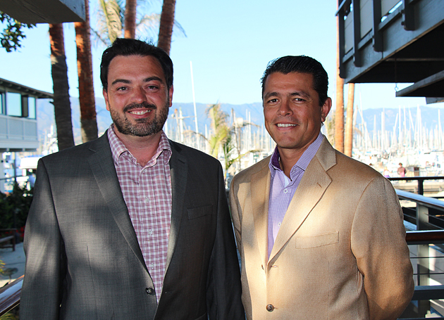Chris Rose and Ceasar Perez of Impulse Advanced Communications.