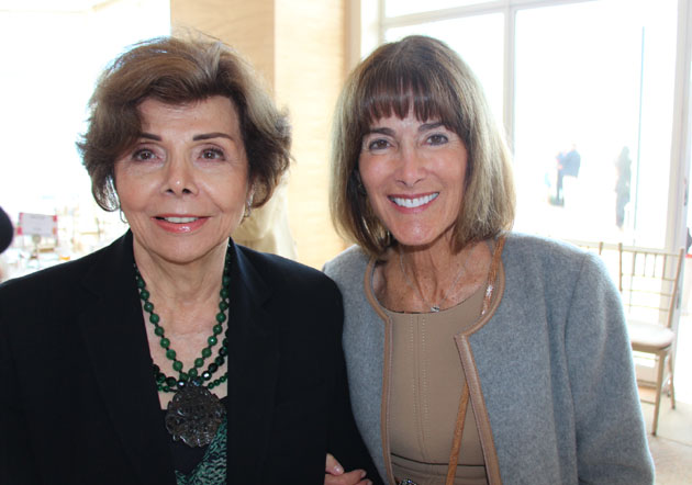 Dolly Granatelli, left, and past Honored Mother Anne Towbes.